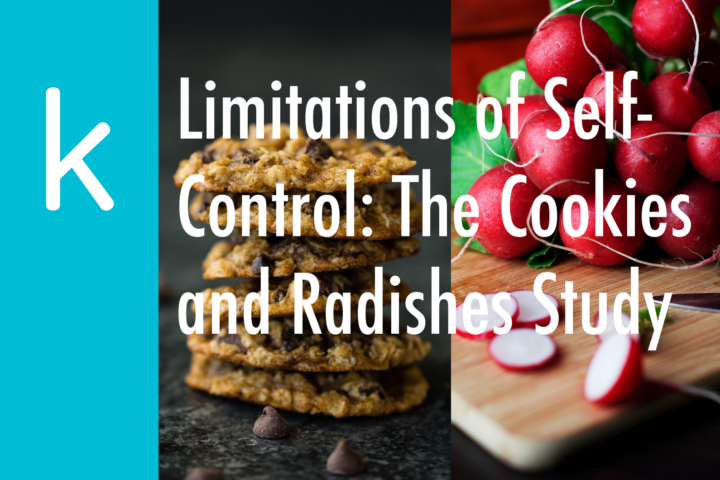 Limitations of Self-Control: The Cookies and Radishes Study